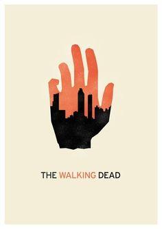 The Walking Dead minimalist poster 2