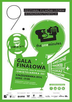 Gala 9. Festiwalu Filmów i Form Jednominutowych (9 października 2014/ Centrum św. Jana).   Autor: Adam Przybysz