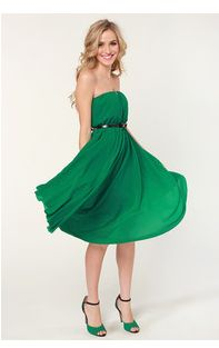 Good Luck St Patrick's day dress