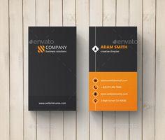 Creative Business Card Template #design Download: http://graphicriver.net/item/creative-business-card/10784971?ref=ksioks