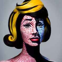 Pop Art Makeup! Awesomesauce!