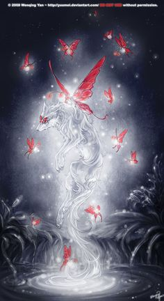 I can Fly too by yuumei.deviantart.com on @deviantART