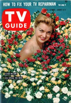 Esther Williams August 6-12, 1960...