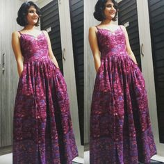 Kalamkari maxi dress with pockets :) by tadka