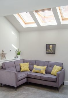 Bathroom Loft Conversions and tips to create light and space in a loft bathroom With VELUX Roof Windows Single Storey Extension, Modern Roofing, Bedroom Loft, Loft Bathroom, Roof Window, Small Loft, High Walls, Light And Space, House Windows