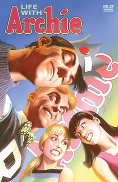 Life With Archie n°37 - Variant cover by Alex Ross
