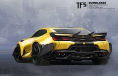 Transformers: The Last Knight Concept Art By Mark Yang - Bumblebee, Barricade, Optimus And More - Transformers News - TFW2005