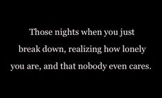 I think everyone has those type of nights.