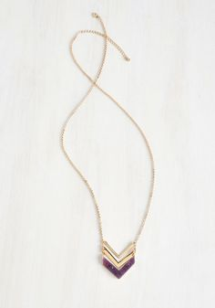 A Druzy of a Time Necklace   Mod Retro Vintage Necklaces   ModCloth.com