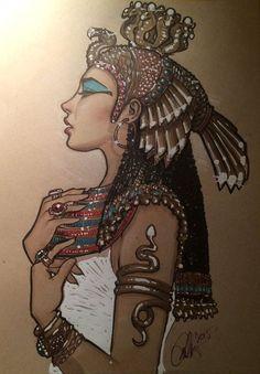 Cleopatra by Rvalenzuela80 on Deviantart:
