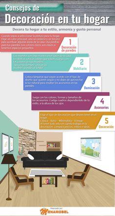 Consejos de decoración en tu hogar.