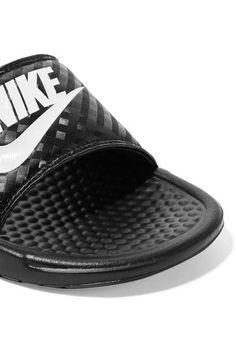 Nike - Benassi Just Do It Rubber Slides - Black - US11