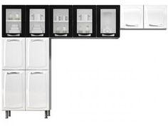 Cozinha Compacta Premium 11 Portas - Itatiaia