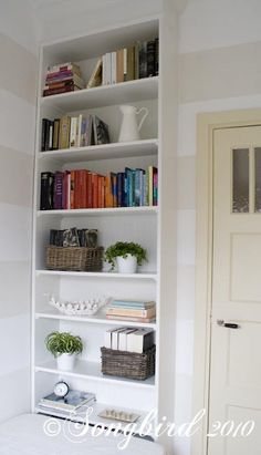 IKEA hack: Bookcase to built-in