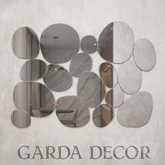 Mirror Garda Decor 3d Mirror, 3d Models, Round Sunglasses, Decor, Decorating, Dekoration, Deco, Decorations, Deck
