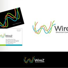 WireZ Electrical Contractors - Create a vibrant logo for an emerging electrical trade company, Wirez Electrical Contractors