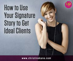 Your signature story builds trust and creates a memorable brand. How to share your own unique experiences to connect with ideal clients.