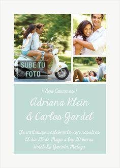Triptique-Celebra con estilo con las invitaciones y tarjetas virtuales de LaBelleCarte: www.LaBelleCarte.com