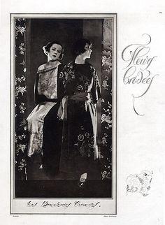 Paul Poiret evening dress   Paul Poiret 1922 Les Broderies Chinoises, Evening Gown, Chinese ...