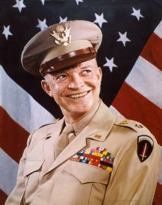 General Dwight D. Eisenhower - Rare color celebrity photos from the 1930s to the 1950s - NY Daily News