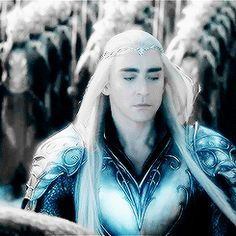Magnificent Thranduil gif (The Hobbit: Battle of the Five Armies)