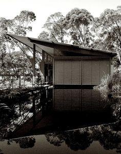 Simpson-Lee House, Mount Wilson, New South Wales Australia Australian Architecture, Australian Homes, Residential Architecture, Amazing Architecture, Contemporary Architecture, Architecture Details, Green Architecture, Glen Murcutt, Container Architecture