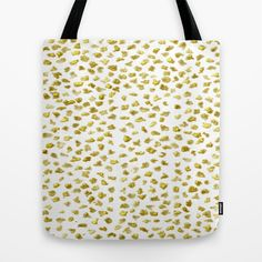 Gold Nuggets Tote Bag by Justbyjulie - $22.00