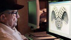 Hal Lasko é um senhor de 97 anos que serviu na Segunda Guerra Mundial fazendo mapas para bombardeios, e se aposentou em 1970 como tipógrafo em uma grande empresa norte-americana. Hoje utilizando o Microsoft Paint do Windows 95, Lasko demonstra que fazer arte não depende do meio e muito menos da idade. http://hallasko.com/