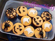 halloween muffins | Halloween muffinok