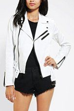 Urban Outfitters - Tripp NYC Twill Moto Jacket
