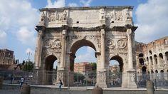 콘스탄티누스 개선문,로마