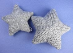 Iron Craft Challenge #24 - Knit Star Ornaments by katbaro, with great tutorial photos!