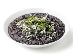 Black Rice Risotto from FoodNetwork.com