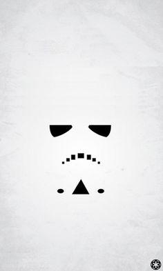 18 fonds d'écran minimalistes Star Wars   Autour du Web