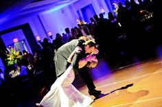 "Dancing and ""I Do's"" in an elegant Hilton Virginia Beach Oceanfront Wedding 
