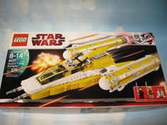Lego Star Wars The Clone Wars Anakin's Y Wing Starfighter 8037 Complete in Box 5702014533356 | eBay