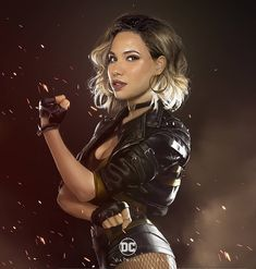 Datrinti has given us a look at what Jurnee Smollett-Bell could look like as Black Canary. Dinah Drake, Jurnee Smollett, Dinah Laurel Lance, Canary Birds, Lance Black, Fanart, Dc Movies, Black Canary, Detective Comics