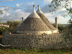 Trullo in Puglia, Italy