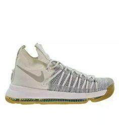 3c711c1086b Nike Zoom KD 9 Elite Mens Basketball Shoes 11 Pale Grey Ivory  Nike   BasketballShoes