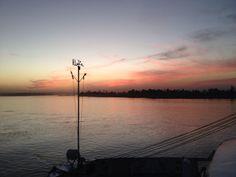 The Nile at dusk