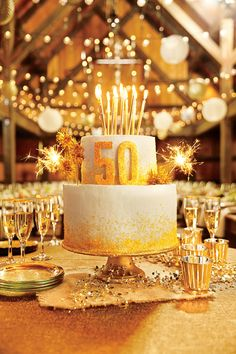 The Southern Living Anniversary Cake Recipe/Vanilla-Almond Cake with Grand Buttercream Icing Most Popular Birthday, Popular Birthdays, 50th Cake, 60th Birthday Cakes, Birthday Cake Sparklers, Simple Birthday Cakes, Birthday Gifts, Happy Birthday, 50th Anniversary Cakes