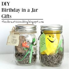 Here's my version of the popular 'Birthday-in-a-Jar' gifts all over Pinterest. I actually did two that had themes for two of my cousins. On...