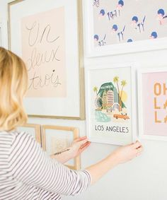 Transform your space into a gallery with this simple DIY