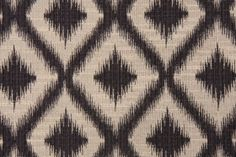 i think this might be the one!    Robert Allen Ikat Fret Tapestry Upholstery Fabric in Charcoal