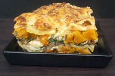 Butternut Squash, Spinach and Mushroom Lasagna [vegetarian] - The Flexitarian