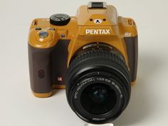 Super like!! Pentax Rilakkuma Camera. :)