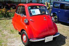 [拡大画像]Car Watch 「堺市ヒストリックカーコレクション」見学会リポート Bmw Isetta, Microcar, Small Cars, Cool Cars, Vehicles, Techno, Bubble, Motorcycle, Nice