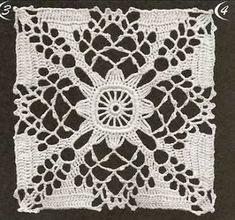 Irish crochet &: CROCHET SQUARE ... КВАДРАТЫ