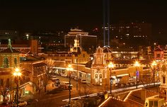 Holiday Plaza lights - Kansas City Missouri - An amazing sight that takes your breath away.