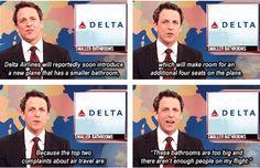 Delta on Weekend Update